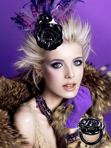 Agyness Deyn Anna Sui Fall Winter 2009 2010