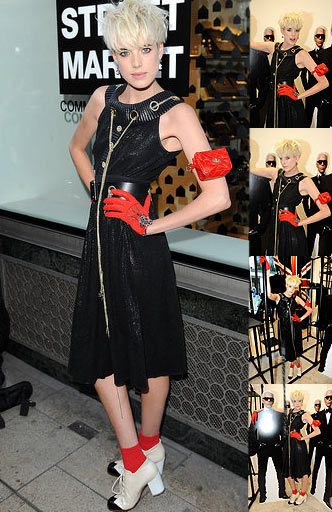 Agyness Deyn Chanel Spree On Dover Street