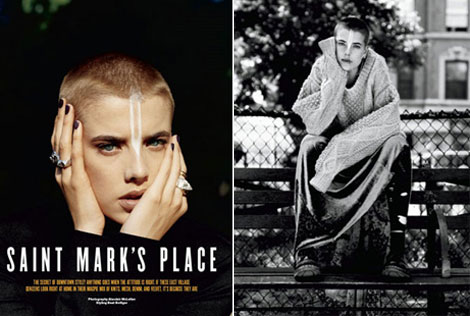 Agyness Deyn Back To Modelling