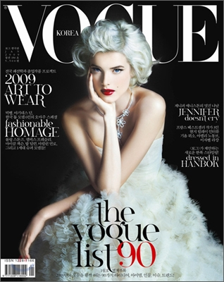 Agyness Deyn Does Vogue Korea January 2009