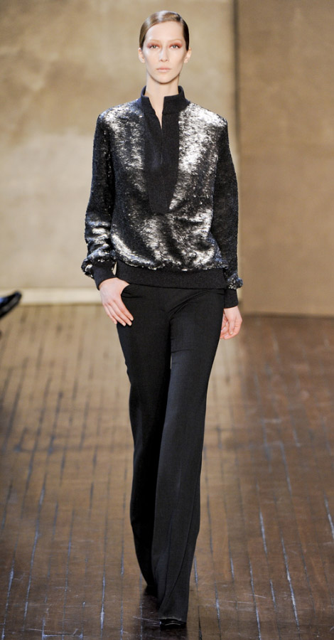 Akris Fall Winter 2011 2012 collection Alana Zimmer