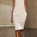 Akris Fall Winter 2011 2012 collection Melodie Monrose white