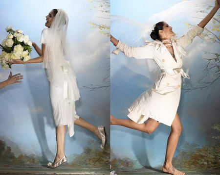 Alber Elbaz for Lanvin Collection Blanche Dresses