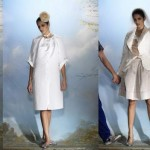 Alber Elbaz for Lanvin Collection Blanche Short Dresses