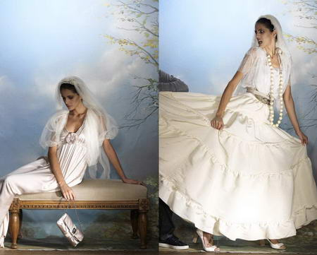Alber Elbaz for Lanvin Collection Blanche Wedding Dresses