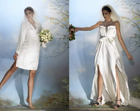 Alber Elbaz for Lanvin Wedding Collection Blanche