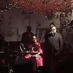 alber elbaz singing for Lanvin party