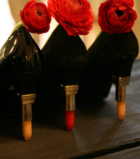 Alberto Guardiani Heels of Lipstick