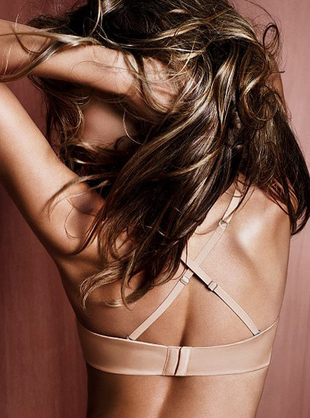 Alessandra Ambrosio Victorias secret 7way bra ad