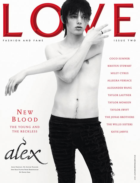 Alex Hartley Love Issue Two cover