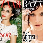Alexa Chung Harpers Bazaar October 2011 Australia Uk
