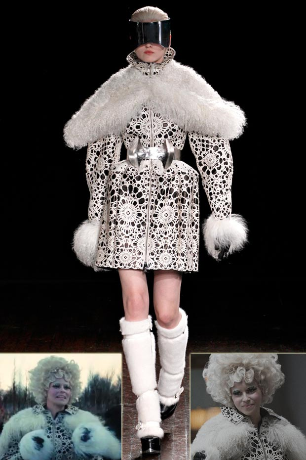 Alexander McQueen dress worn by Effie Trinket Hunger Games