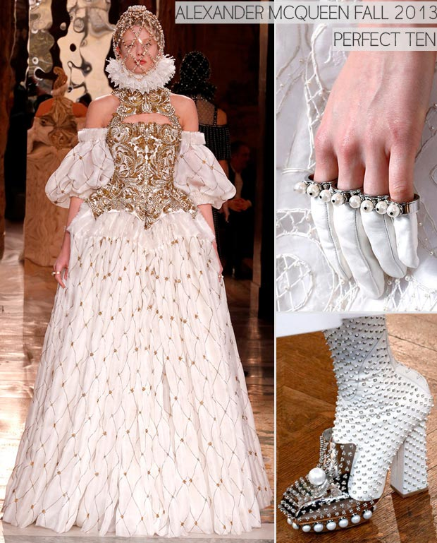 Perfect Ten: Alexander McQueen Fall 2013 Royal Catholic Collection