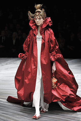 Alexander McQueen Fall Winter 2008 2009 dress