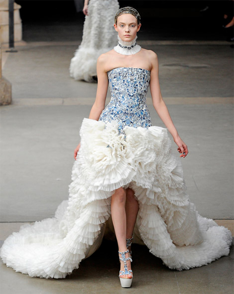 Alexander McQueen Fall Winter 2011 2012 collection Nimue Smith