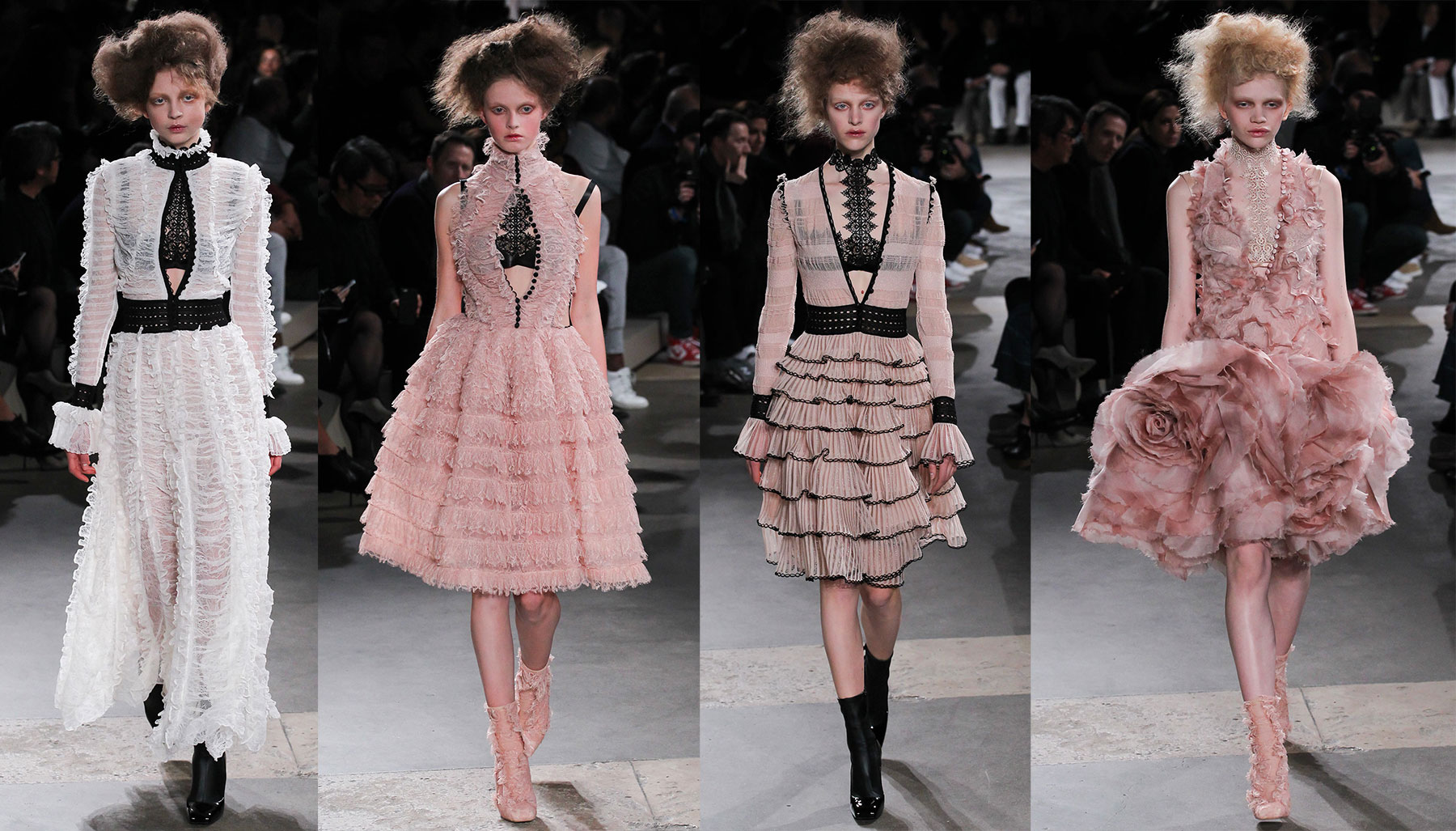 Alexander McQueen Fall Winter 2015 2016 collection
