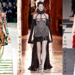 Alexander McQueen harness throughout the years