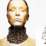 Alexander McQueen Spring 2013 honey campaign Raquel Zimmermann