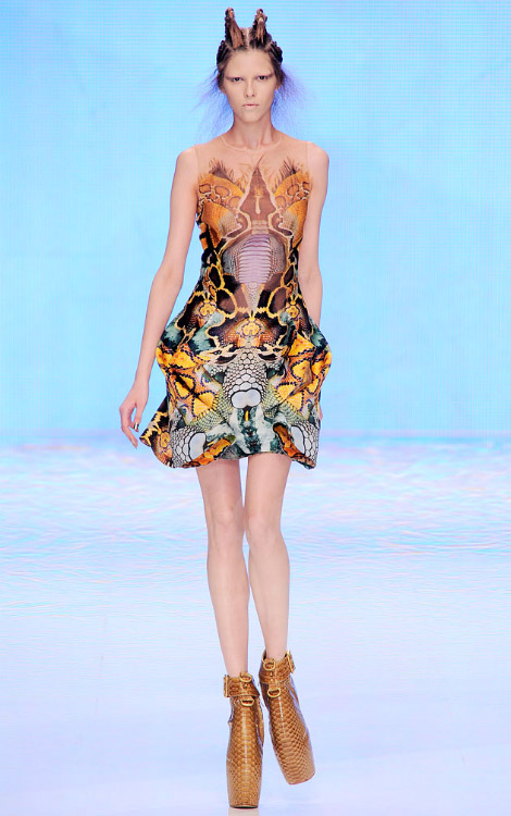 Alexander McQueen Spring Summer 2010 collection
