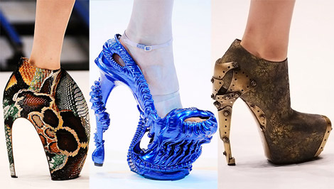 Alexander McQueen spring summer 2010 shoes