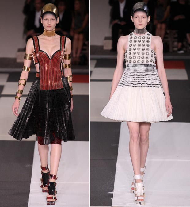 Alexander McQueen Spring Summer 2014 collection influences