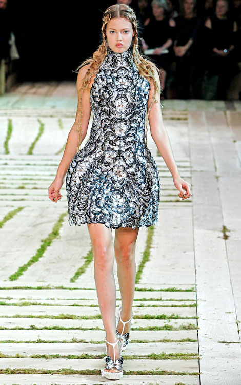 Alexander McQueen Summer 2011 collection