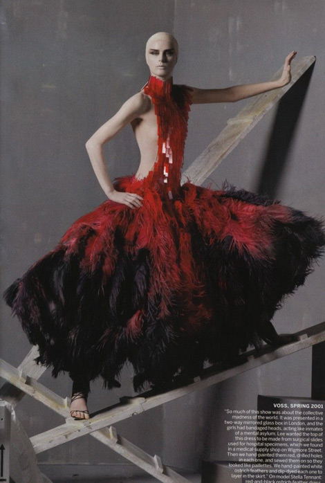 Alexander McQueen tribute 2001 collection Stella Tennant