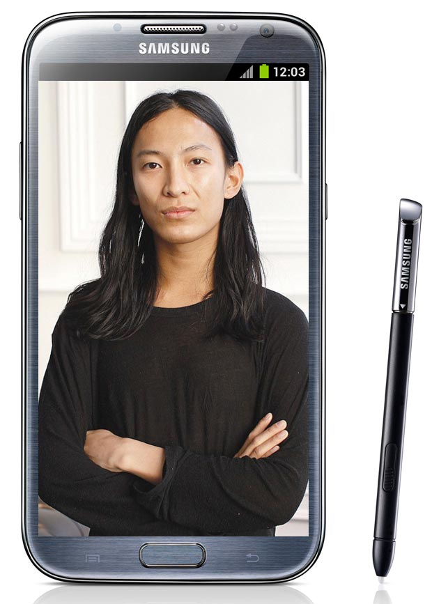 Alexander Wang Funny Spring 2013 Commercial, Bags Deal With Samsung