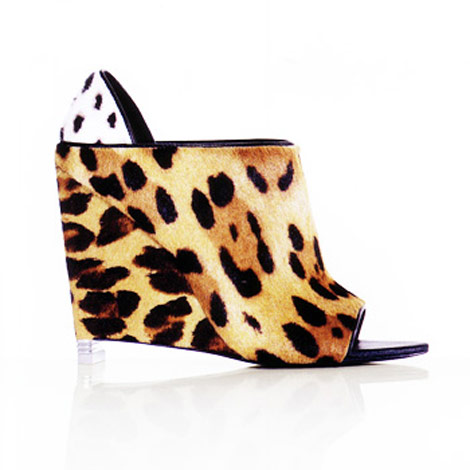 Alexander Wang leopard wedges Summer 2010