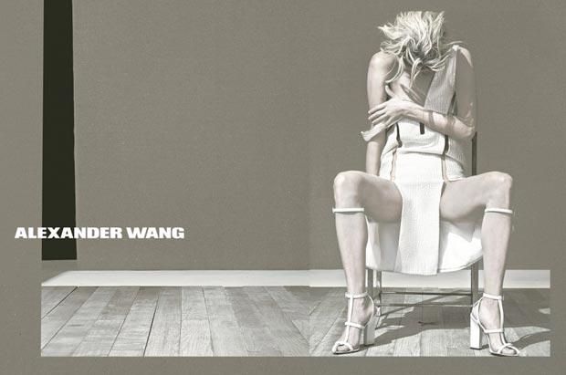 Alexander Wang Spring 2013 ad campaign by Steven Klein