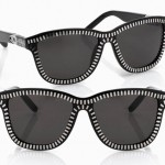 Alexander Wang Sunglasses zipped silver