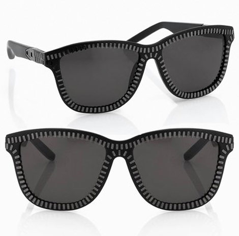 Alexander Wang Sunglasses zipped
