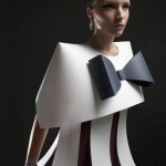 Alexandra Zaharova Ilya Plotnikov Paper bow Dress