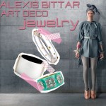 Alexis Bittar jewelry Effie Trinket Hunger Games Mockingjay