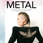 Alice Dellal Does Metal Magazine