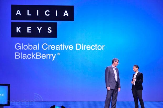 Alicia Keys BlackBerry Global Creative Director