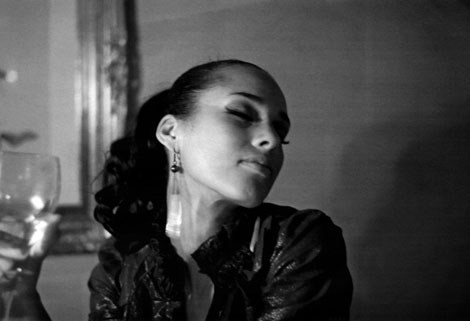 Alicia Keys by Lenny Kravitz