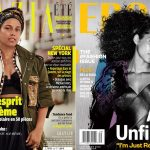 Alicia Keus no makeup covers Grazia Ebony