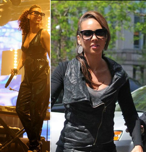 Alicia Keys Thierry Lasry Sunglasses