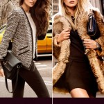 Aline Weber Anne Vyalitsyna DKNY Fall Winter 2011 2012 ad campaign