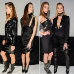 all black Versace Fall 2013 trends