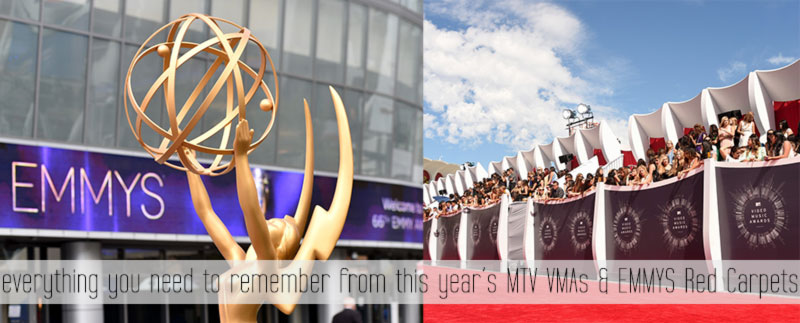 Everything You Need To Remember About 2014 MTV VMAs and 2014 Emmy Awards Red Carpet!