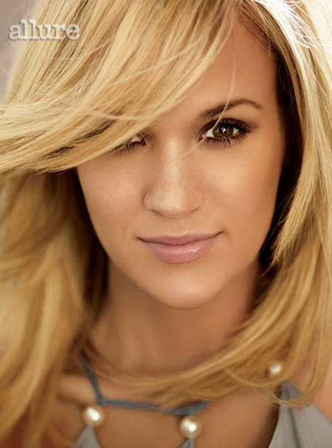 Allure April 2010 Carrie Underwood