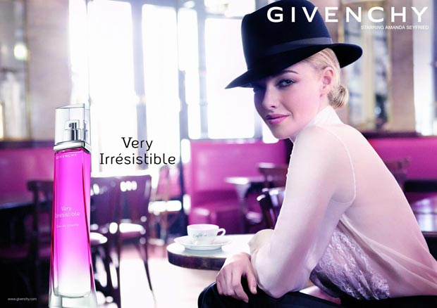 Givenchy Very Irresistible Ads: Amanda Seyfried Replaced Liv Tyler