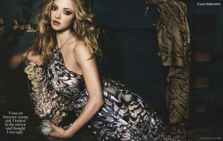 Amanda Seyfried Marie Claire April 2011 1