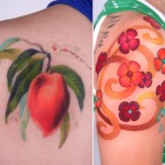 Amanda Wachob tattoos