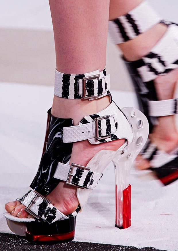 amazing sandals Spring Summer 2014 McQueen