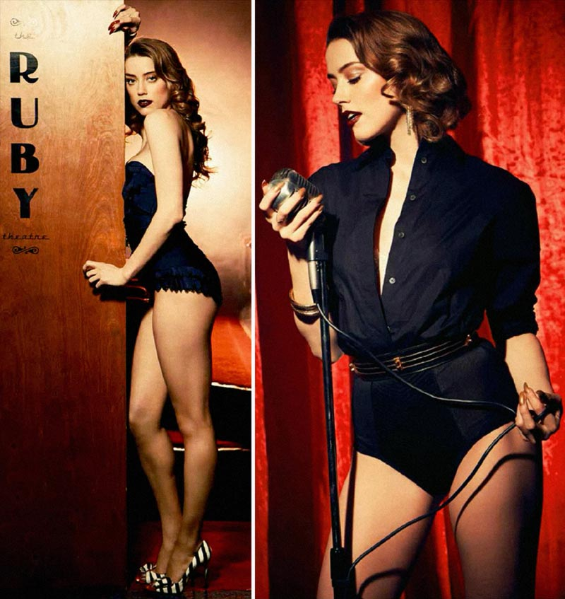 Amber Heard Esquire magazine Latin America pictorial