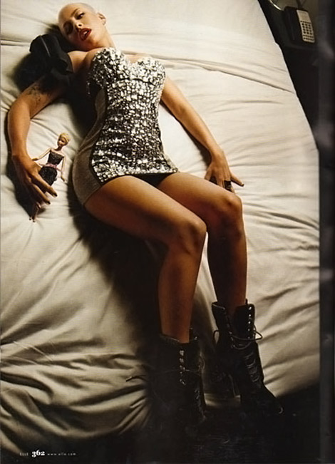 Amber Rose Elle Magazine October 2009