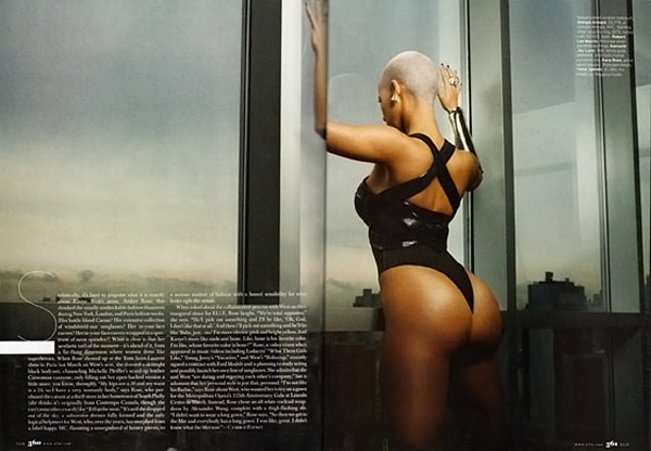 Amber Rose Elle October 2009 1